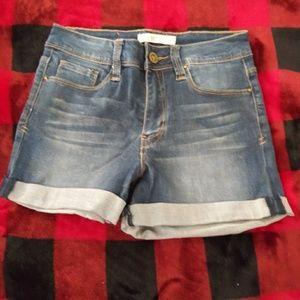 YMI SIZE 1 jean shorts